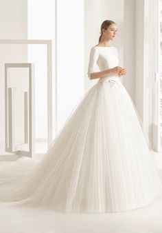 Rosa Clará Nekane Wedding Dress photo
