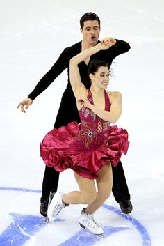 Tessa Virtue and Scott Moir are simply the reason I love figure skating as much as I do
