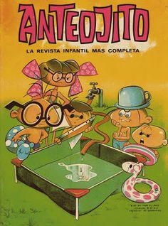 Fanas de García Ferré Ferrat, Magazines For Kids, Ideas Para Fiestas, Vintage Comics, Retro, Catholic, Nostalgia, Childhood, Collage