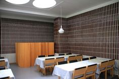 Alvar Aalto's Architecture: National Pensions Institute in Helsinki (1953-56)