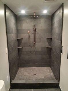 Kohler DTV Prompt Inside A Custom Slate Shower!