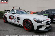 Hartmut Feyhl's 2015 Mercedes-Benz GT S will compete in the 2015 #OUSCI www.optimainvitational.com