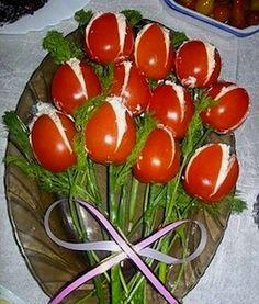Tomato Tulip Salad