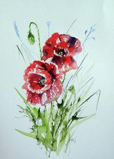 Poppies by Kovacs Anna Brigitta