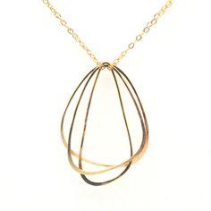 Wing Trio Necklace