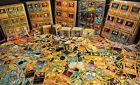 50 POKEMON TRADING CARDS WITH RARE AND 1ST GENERATION CARDS. COLLECTORS DREAM!