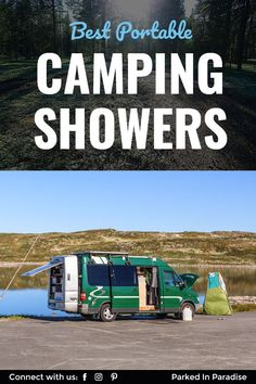 Best Camping Showers Ideas for finding the best portable camping shower for fishing, hiking, backpacking, mountain biking, off grid adventure and diy campervan conversions. What to look for in a tiny shower. Best shower to clean your kids and yo Off Grid, Portable Outdoor Shower, Outdoor Camping, Camping Checklist, Camping Hacks, Camping Ideas, Camping List, Camping Guide, Camping Supplies
