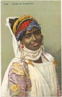 ALGERIE . FILLETTE JUIVE De CONSTANTINE . JUDAICA .TTB Portrait . - Jewish
