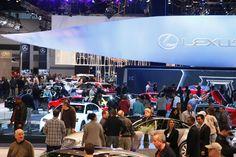 Lexus exhibit at the 2012 Chicago Auto Show. #CAS13 #Chicago #Lexus