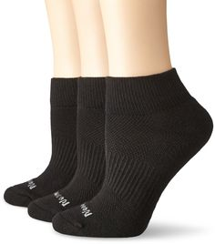 No Nonsense Women's Soft and Breathable Ventilated Cushioned Quarter Top 3-Pack * READ REVIEW @ http://www.getit4me.org/fashion100/1646/?480