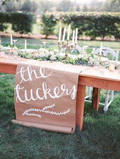 50 Rustic Country Kraft Paper Wedding Ideas rustic wedding table decor with kraft paper Diy Wedding Day, Craft Wedding, Wedding Signs, Rustic Wedding, Wedding Ideas, Wedding Reception, Farm Wedding, Wedding Couples, Boho Wedding
