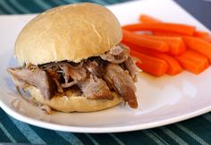 Pulled Pork Sandwiches with Lime Ginger Mayonnaise