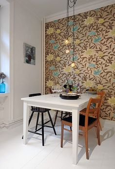 Accent wall #Wallcoverings