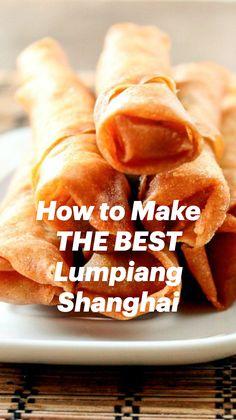 Egg Roll Recipes, Good Food, Yummy Food, Sweet Chili, Egg Rolls, Spring Rolls, Asian Recipes, Filipino Dishes, Filipino Food
