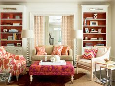 Thom Filicia Collection - transitional - Living Room - calico Corner
