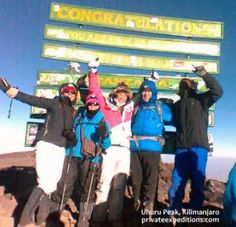 Private Expeditions summit success on Kilimanjaro