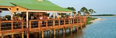 Best fish tacos ever! Lime's Bayside Bar & Grill at the Wyndham Bay Point Resort, Panama City Beach Florida