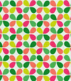 Upholstery Fabric-HGTV HOME Teardrop Twirl Fruit Punch