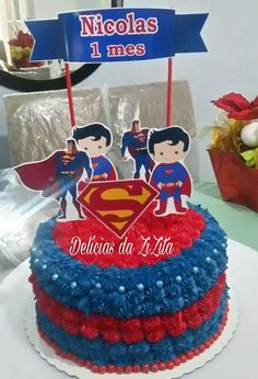 Festa Super Homem Infantil 30 Ideias E Fotos