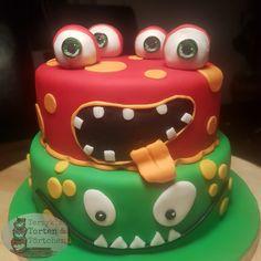 Monster Fondant Cake eyes