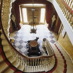 The Staircase hall at The Argory