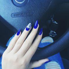 #nails #blue #beauty