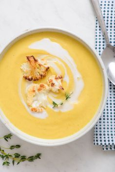 Recipe: Creamy Coconut Cauliflower Soup — Quick and Easy Weeknight Soups