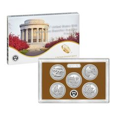 USE:  2017 S United States Mint America the Beatiful Quarters Proof Set US Mint Packaged