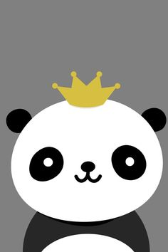 Chin Up Mind The Crown Little Panda