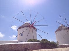 Mykonos windmills - Mykonos, Greece | Karoliina Kazi - read more at www.karoliinakazi.com