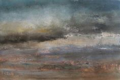 The Sheltering Sky. Oil on canvas by Liz Jameson. Sold.