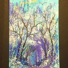 aceo original fantasy  woodland by teabreaks on Etsy, $5.00 Wendy Schultz via Linda Cooper onto ART.