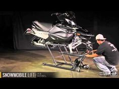 16 Best Snowmobile lift images in 2018 | Garage, Snowmobile