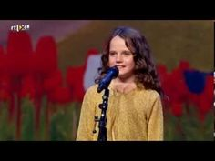 Holy. Crap. This little girl is AMAZING!!! Holland's Got Talent - Amira (9) sings opera O Mio Babbino Caro - Full version