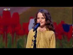 Holland's Got Talent - Amira (9) sings opera O Mio Babbino Caro - Full version - YouTube