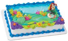 Amazon.com: Decopac Disney Princess Little Mermaid and Flounder Decoset: Toys & Games
