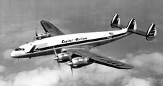 In 1950 Capital purchased five Lockheed L-049 Connies (two from Lockheed, three from KLM). These aircraft were used primarily in air coach operations on high density routes, notably New York to Chicago and Washington to Chicago.   N86531 seen above was the former PH-TAU.