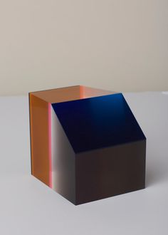 Phillip Low Prism Sculpture 6 (Orange / Blue Black)