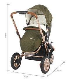 Mothercare Xpedior Pram and Pushchair Travel System - Khaki Special Edition - prams & pushchairs - Mothercare