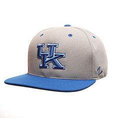 KENTUCKY ATHLETE 32/5 (HIGH) (UK) GRAY LIGHT ACTION GRID ADJUSTABLE HATS BY ZEPHYR $24.99