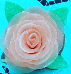 Rosa de sabonete! Magia & Aroma