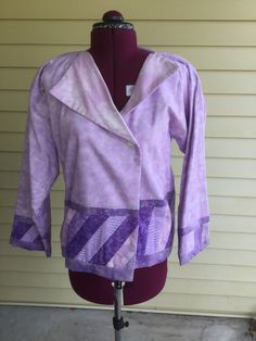 A personal favorite from my Etsy shop https://www.etsy.com/listing/500941928/new-quilted-lined-jacket