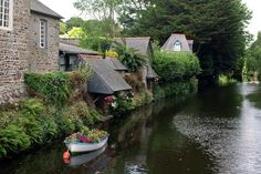 Pontrieux, Brittany, France