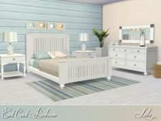 Sims 4 CC's - The Best: East Coast Bedroom by Lulu265