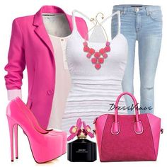 Casual pink