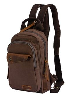 SAIERLONG MrBP Mens Backpack brown Canvas -- You can find more details by visiting the image link. (This is an affiliate link) #MultipurposeDaypacks