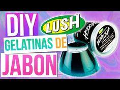COMO HACER GELATINAS DE JABON tipo LUSH - YouTube