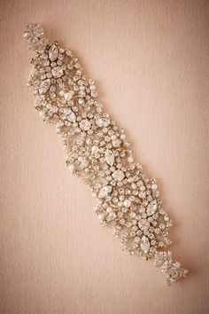 Andreina Bracelet from @BHLDN -- my favorite bracelet in the world is an overwhelmingly sparkly clip bracelet something like this. i'm fairly certain i need another.