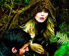OUAT - Emma realizing she's about to witness her parents meeting for the first time.
