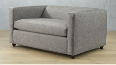Shop movie salt and pepper twin sleeper sofa chair. This sleeper version of our best-selling Movie Sofa is a two-in-one. The deep down lounge appeal of the sofa we know and love, but with a twin bed inside.